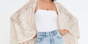 Zara kimono crochet