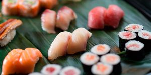 Sushi del restaurante Kirei