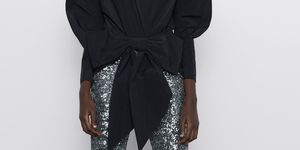 leggings de fiesta baratos zara look con leggings