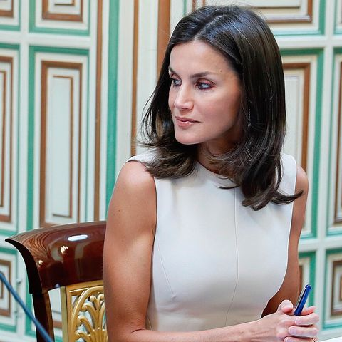 reina Letizia vestido Pedro del Hierro