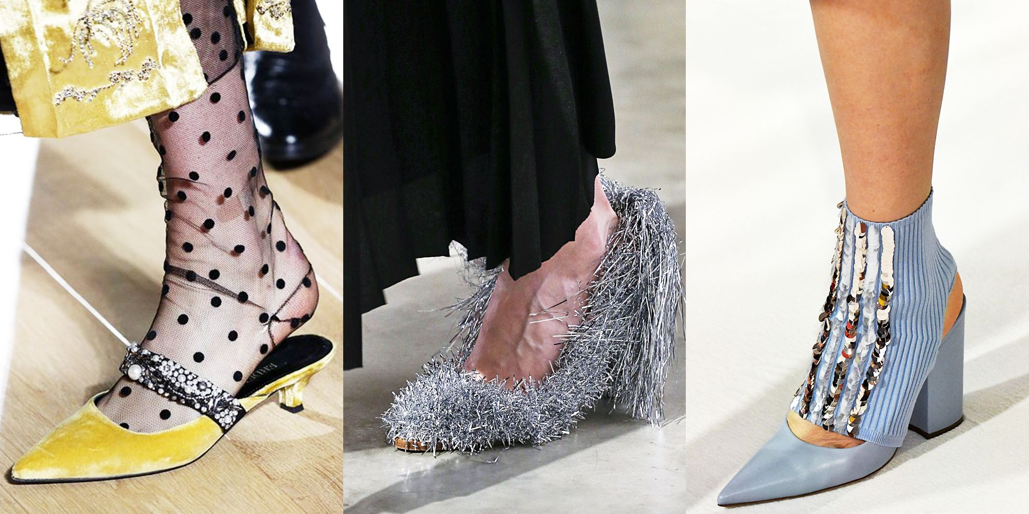 The Heels, Boots, and Pumps You Need From London Fashion Week FW18