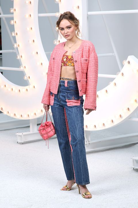 front row de chanel en la paris fashion week