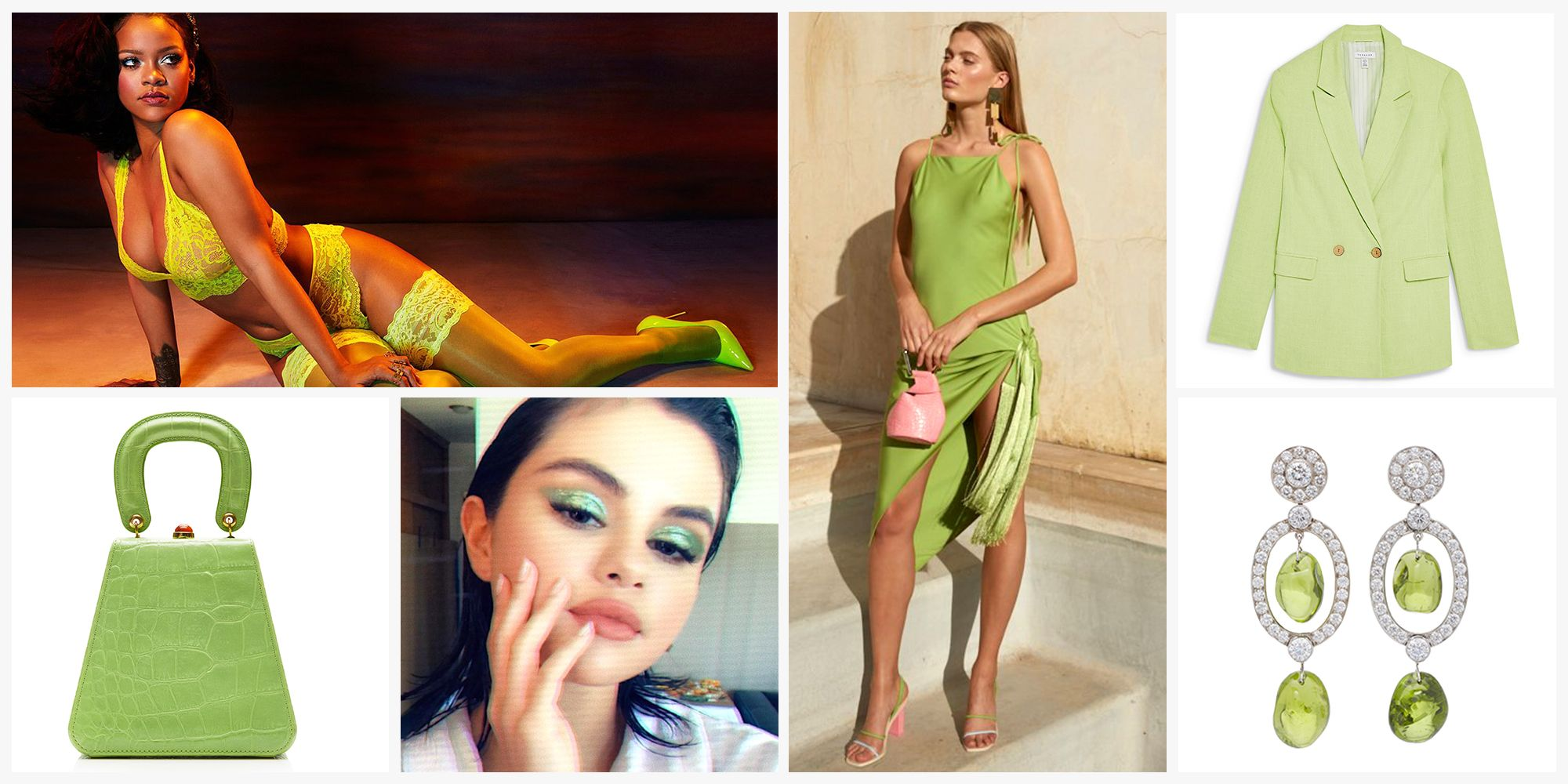 Are Shades of Green the New Millennial Pink?