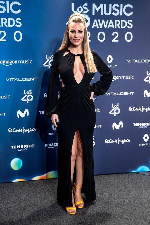 los 40 music awards 2020 vestidos y looks de la alfombra roja