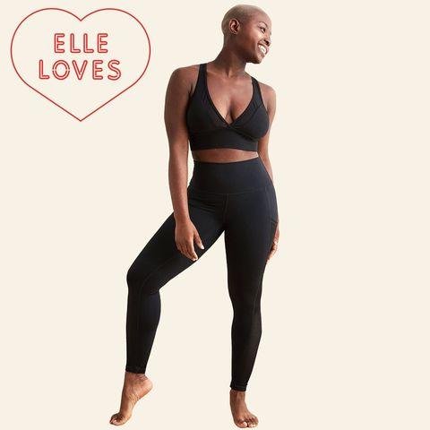 Clothing, Waist, Tights, Leggings, Standing, Sportswear, Leg, Shoulder, Neck, Abdomen,