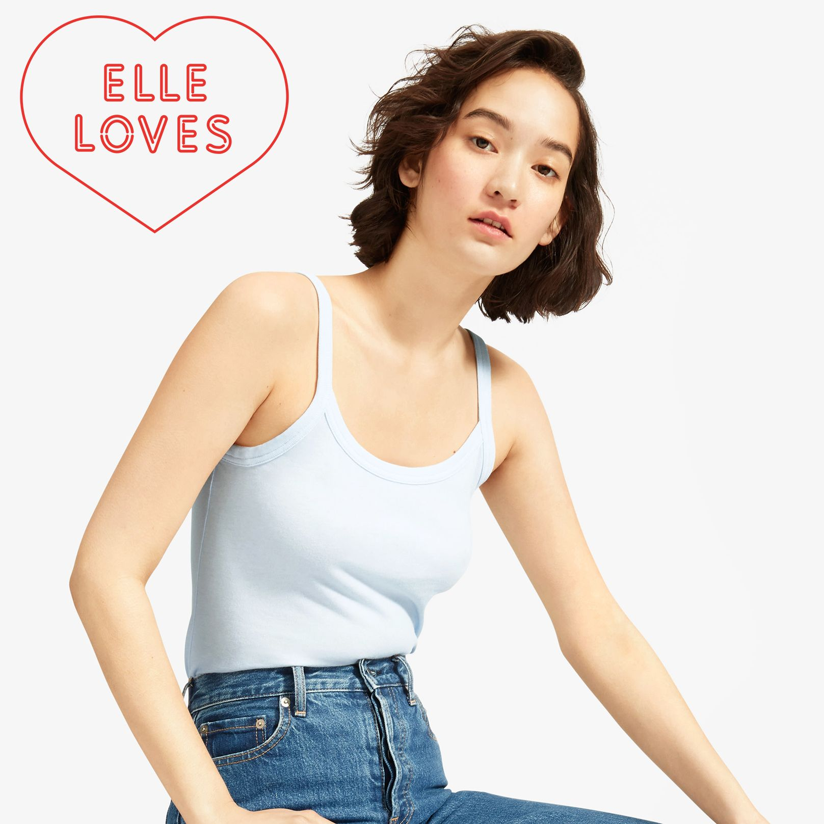 Everlane Is Bringing Back the Spaghetti Strap Tank Top