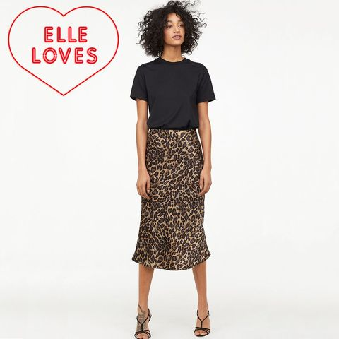 e7ae485b875 This  30 Leopard Skirt Is Just the Right Length