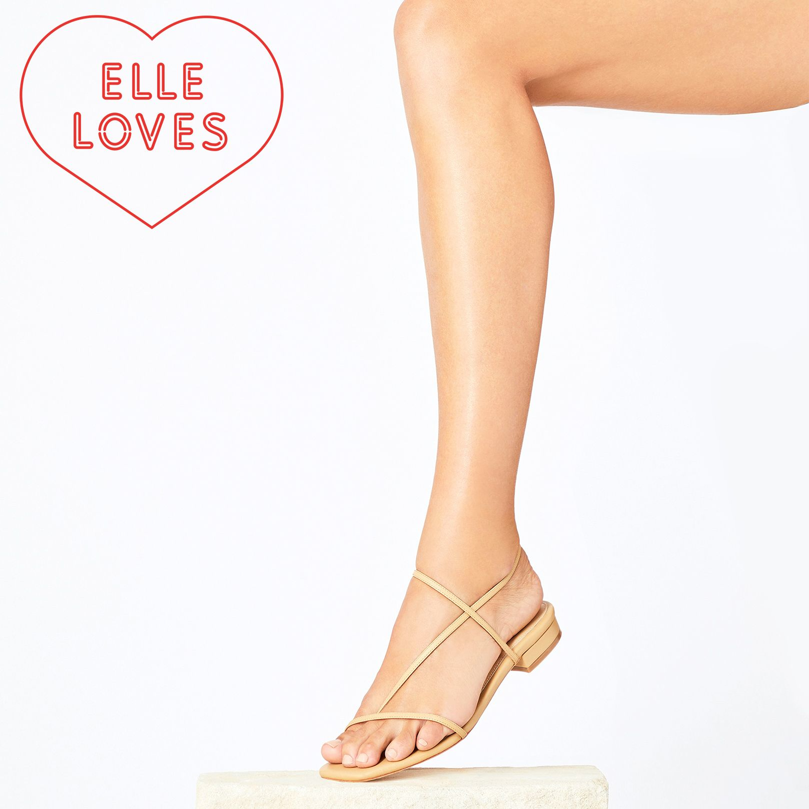 Everyone is Talking About This Barely-There Sandal Brand