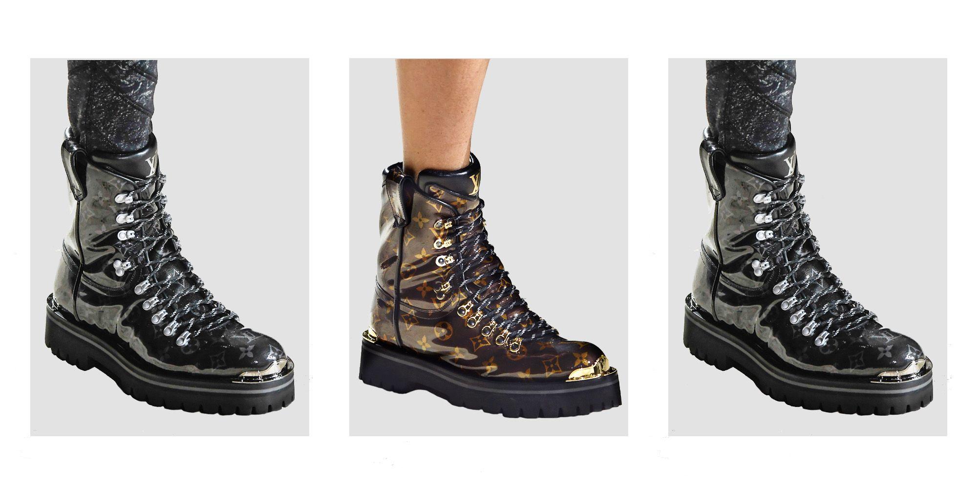 Louis Vuitton Hiking Boots Kim Jones Vuitton