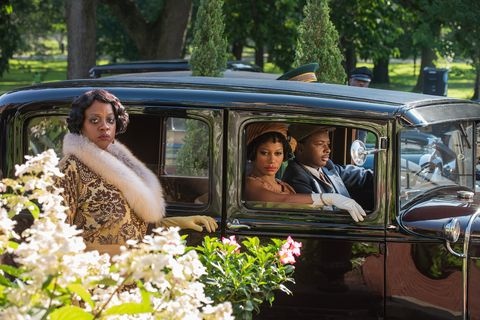 ma rainey's black bottom 2020 l to r viola davis as ma rainey, taylour paige as dussie mae, and dusan brown as sylvestercr david lee  netflix