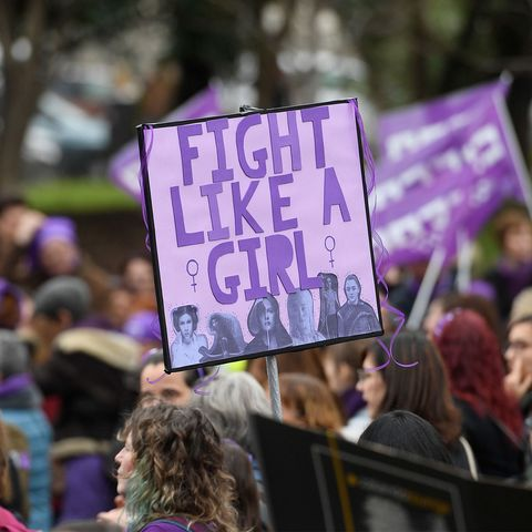 People, Protest, Crowd, Event, Purple, Public event, Demonstration, Rebellion, Social work,