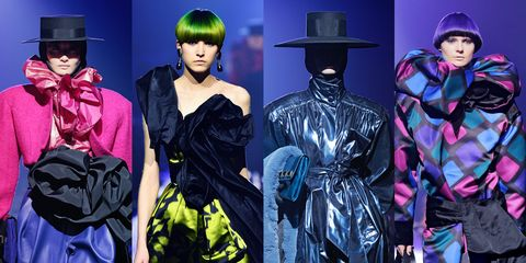 4fee9e7b606b Marc Jacobs Probes the Darker Side of  80s Glam
