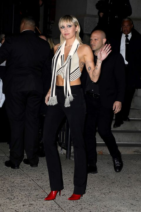 Miley Cyrus desfile Marc Jacobs New York Fashion Week