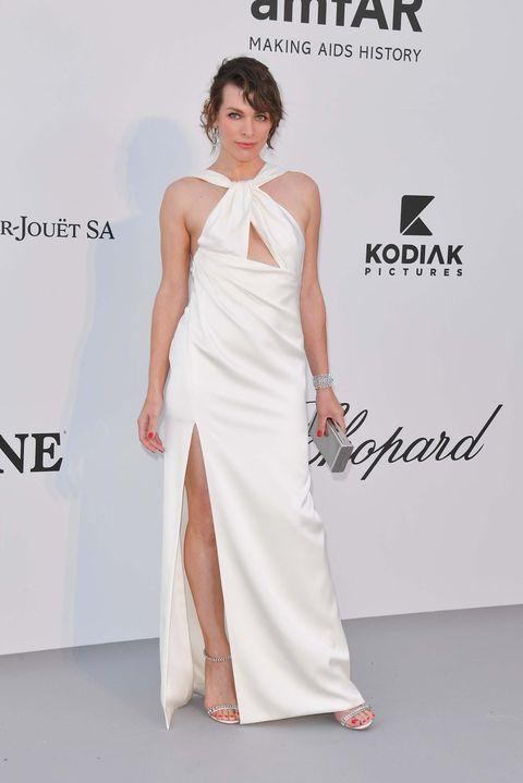 Milla Jovovich gala amfAR Cannes 2019