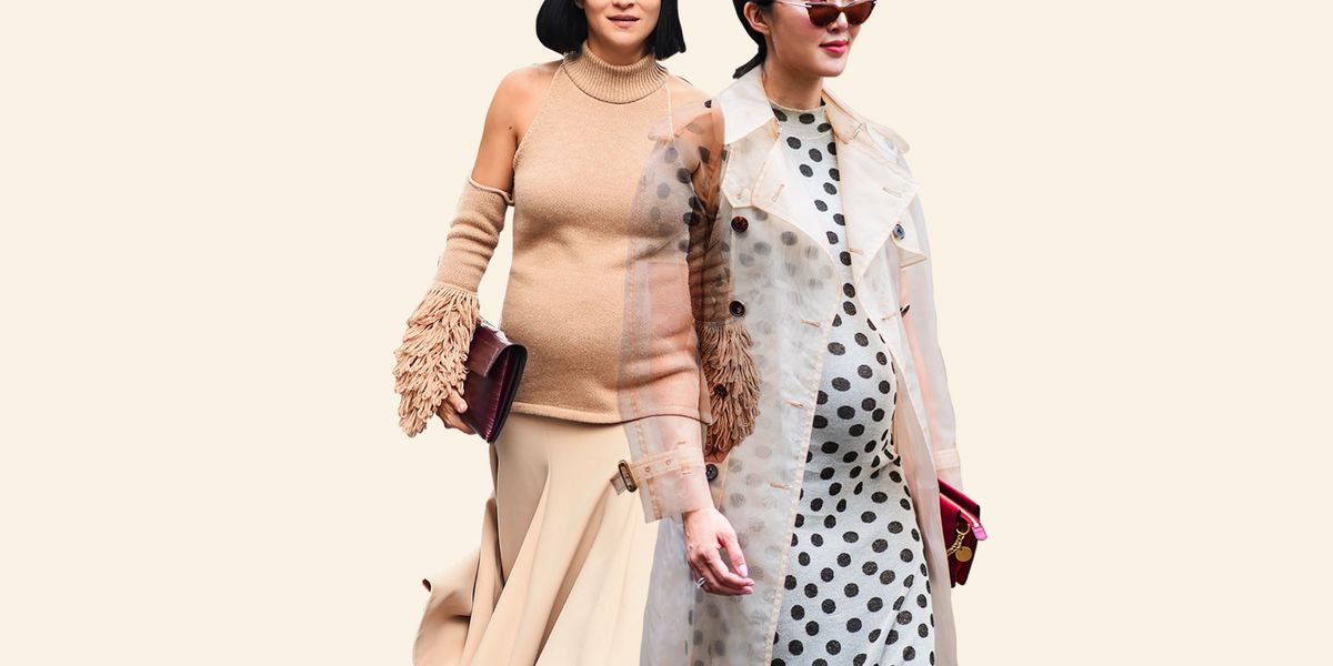 01c3787e6fb How To Dress Your Bump  Fashion Insiders Address Maternity Style