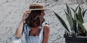El mono largo palazzo con lazos de H&M instagram