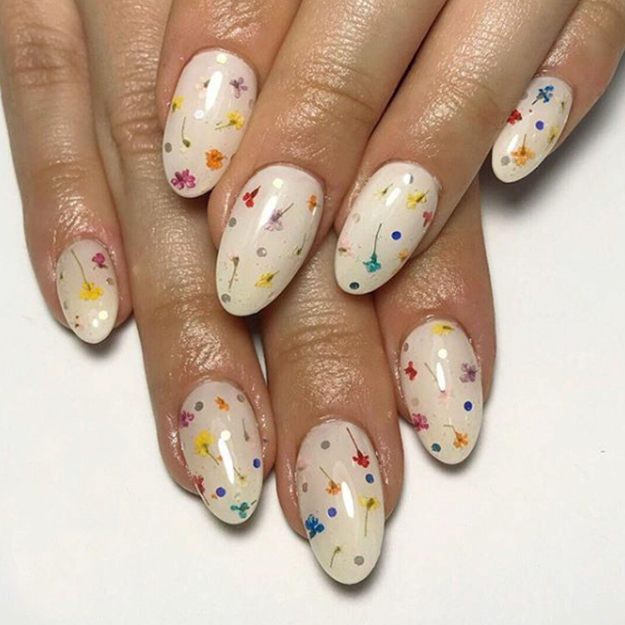 11 Fun Spring Floral Nail Designs The Best Flower Designs For Your Nails