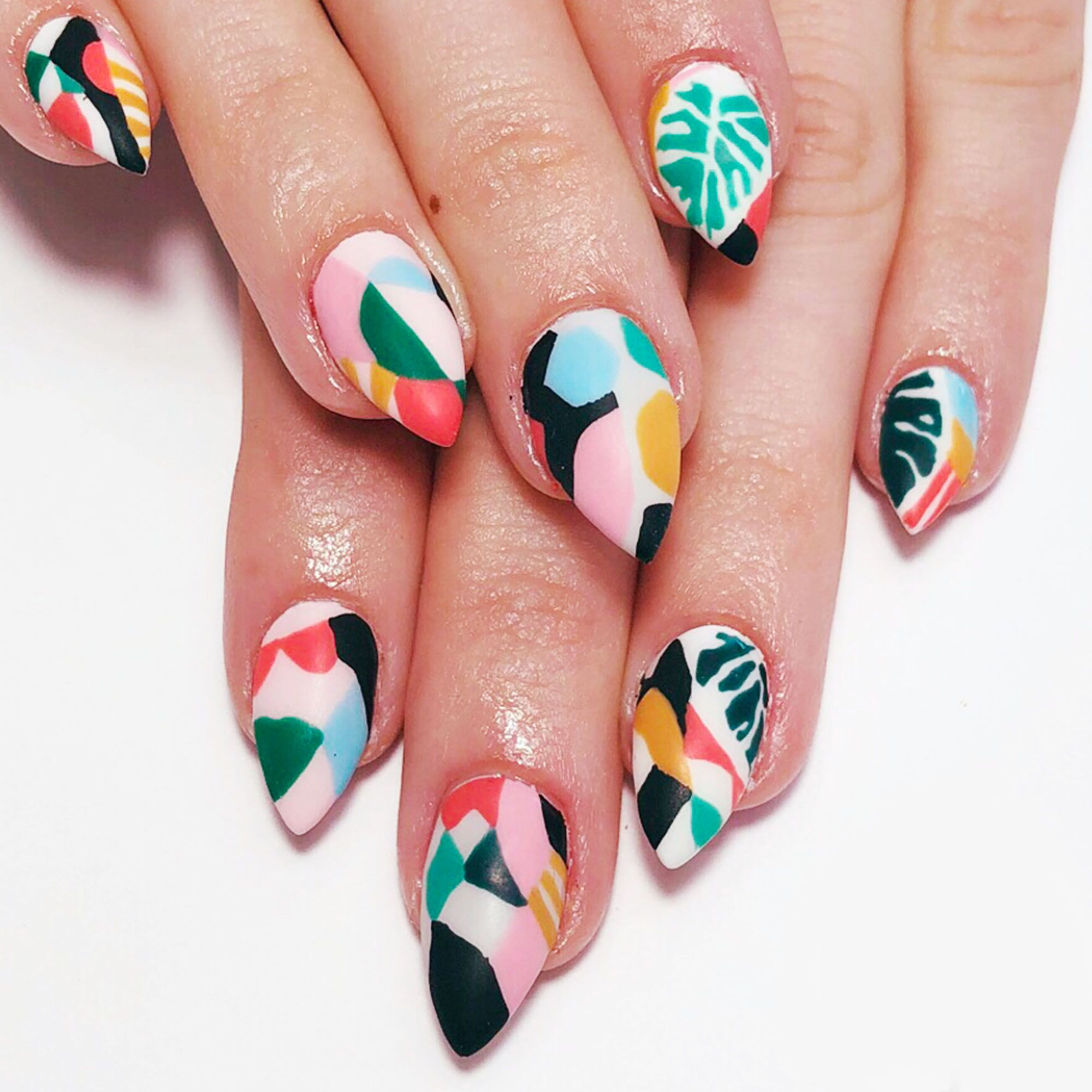 20 Best Summer Nail Art Designs That Are Easy To Design: 20 Cool Summer Nail Art Designs