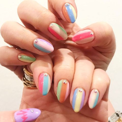 20 cool summer nail art designs  easy summer manicure ideas
