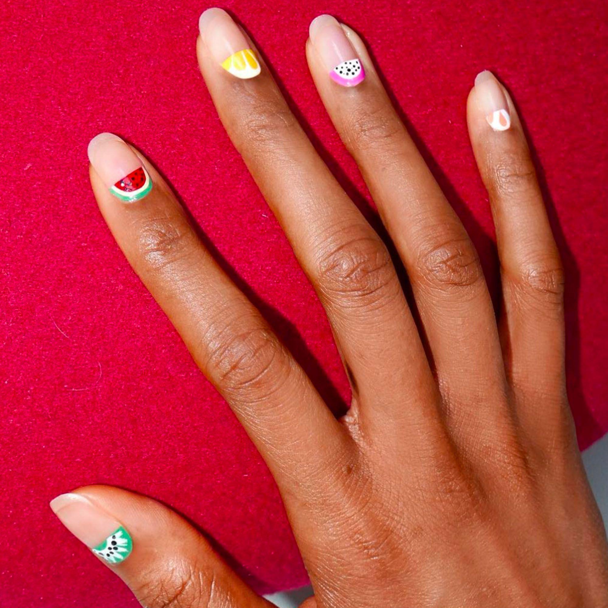 Nail Polish Colors For Cool Skin Tones: 20 Cool Summer Nail Art Designs