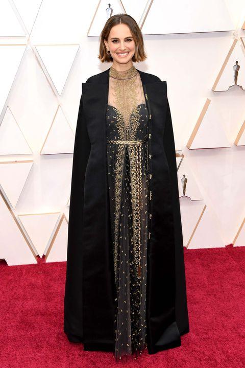 Natalie Portman,Premios Oscar 2020. Foto: Getty Images