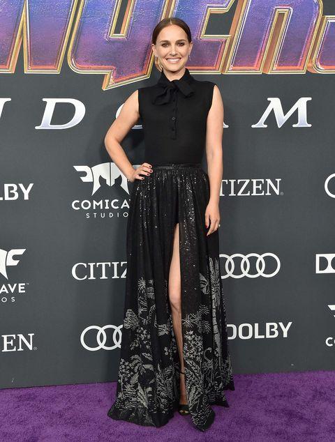 Natalie Portman Vengadores: Endgame estreno alfombra roja