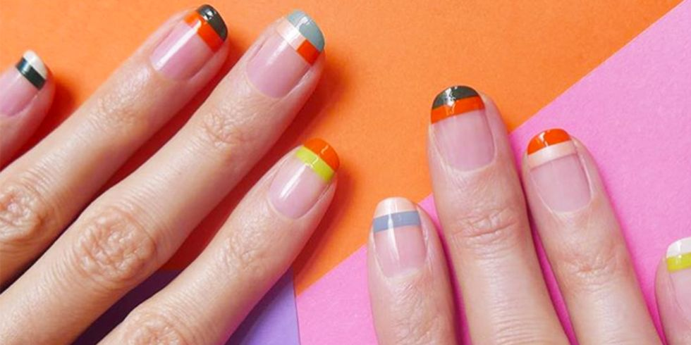 Negative Space Manicures Are Genius for When You Love Manicures, but Hate Getting Them
