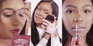 no filter mac aaliyah makeupline