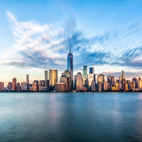 Manhattan new york jersey atardecer elle.es