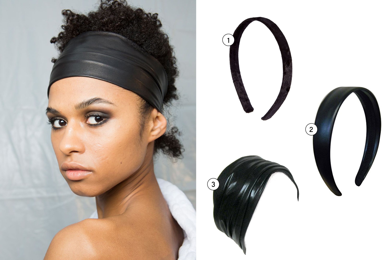 Claires Girls Accordion Headbands Black 2 Pack