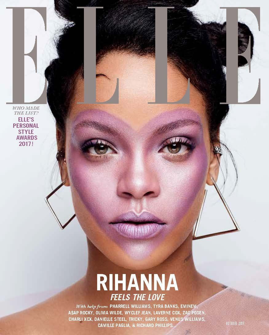 Rihanna Is ELLEu0027s October 2017 Cover Star
