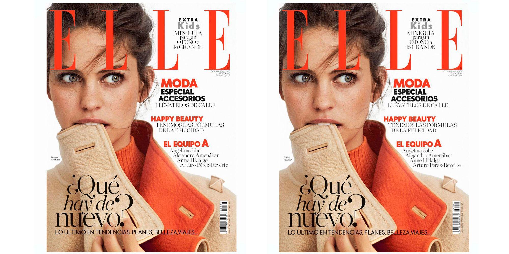 Revista elle octubre 2019