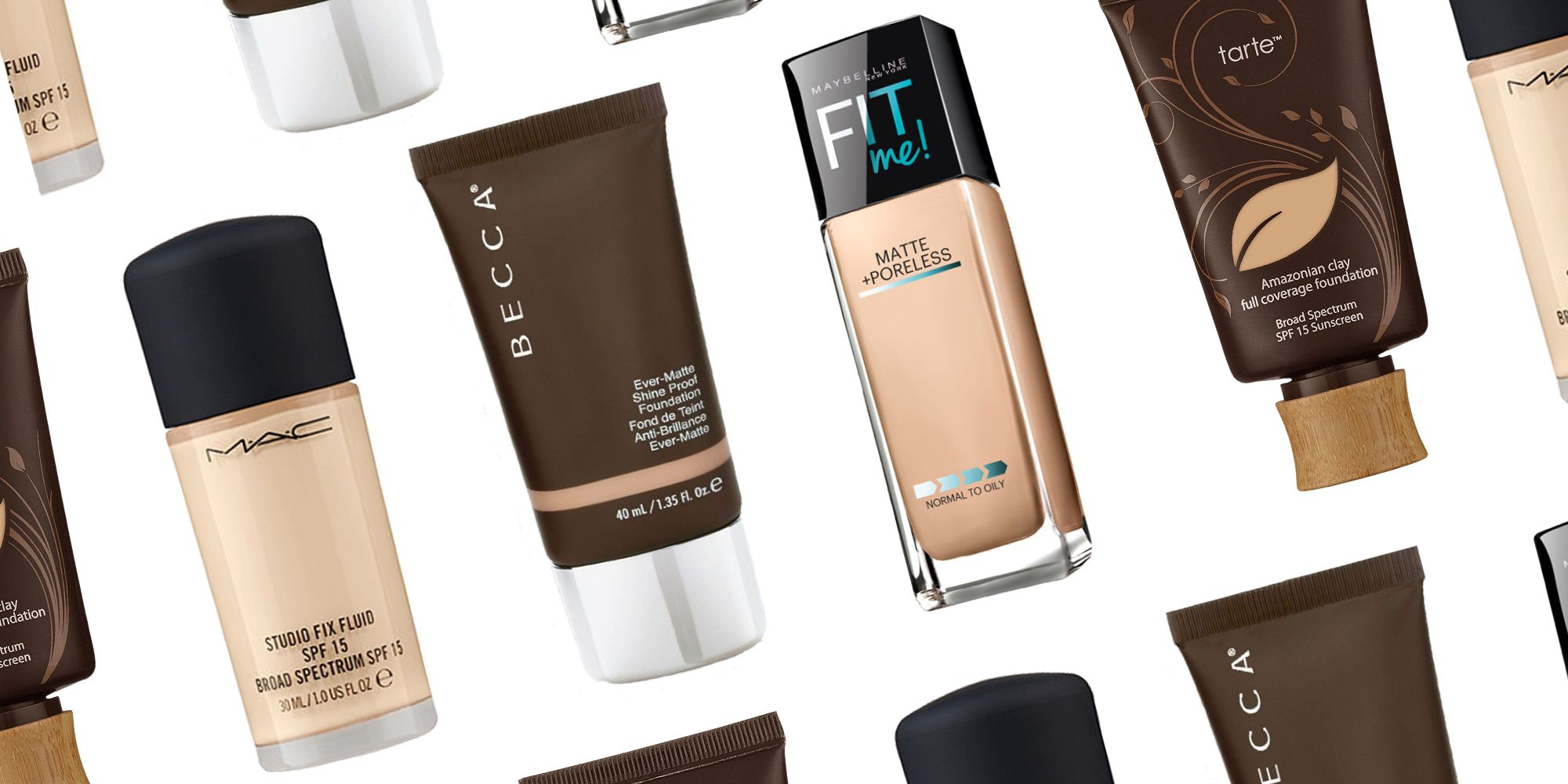natural foundation for oily skin