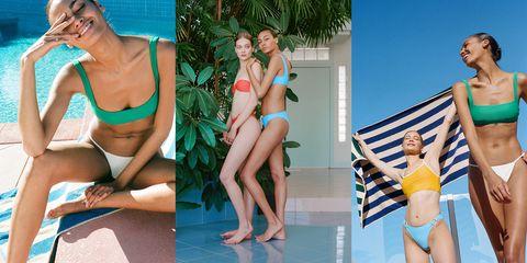 Clothing, Swimwear, Bikini, Leg, Leisure, Summer, Fun, Vacation, Recreation, Swimming pool,
