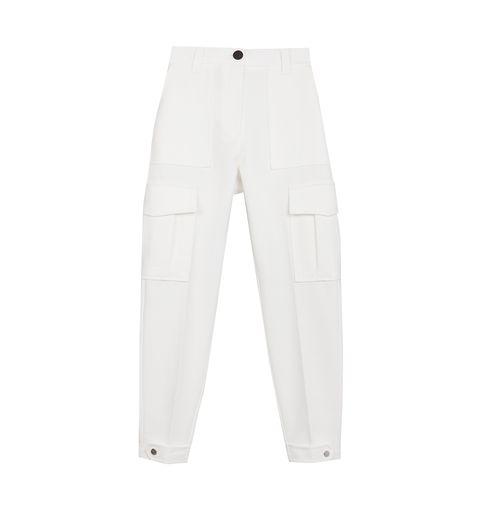 El Pantalon Blanco De Bershka Tipo Cargo Que Compran Las Instagramers