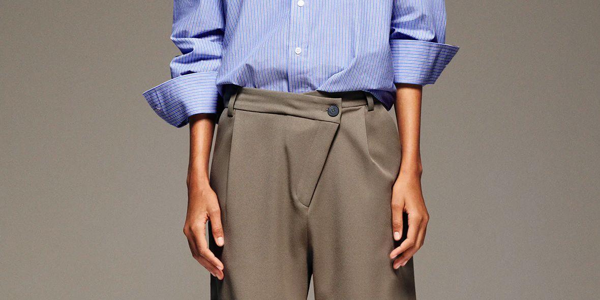 Nueva Version Del Pantalon De Vestir Que Reduce Cintura De Zara