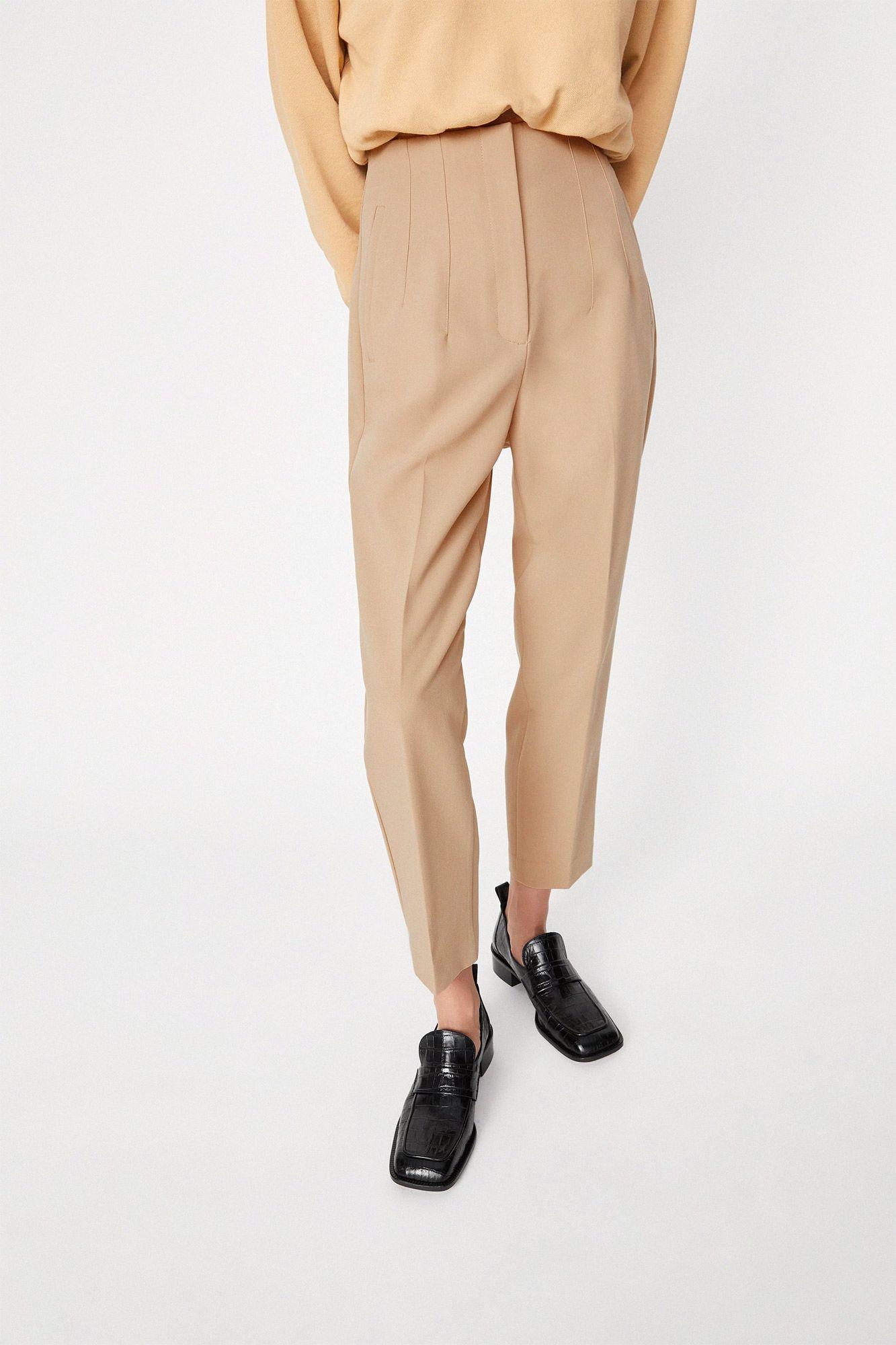 Estos Pantalones De Zara Son Ideales Para Mujeres De Talla Grande