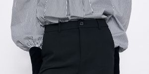 pantalon negro vestir reductor sculpt faja barato zara