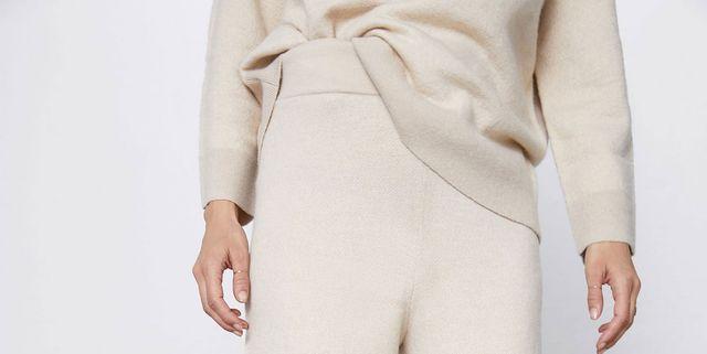 analogía barrer Rocío  Amor total por estos pantalones palazzo de punto blancos de Zara