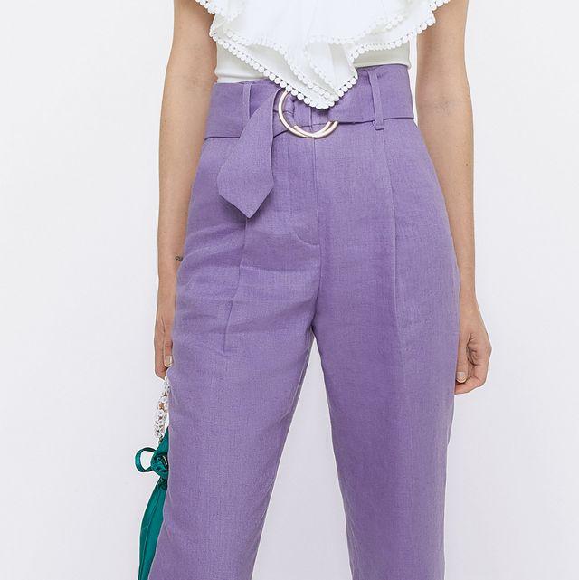 el pantalón de vestir de uterqüe clave para las editoras bajitas