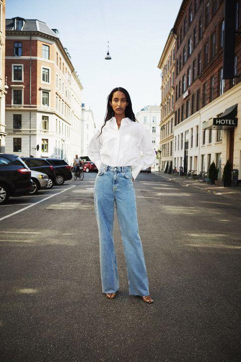 Zara Ha Lanzado Sus Nuevos Pantalones Anchos Vaqueros Premium