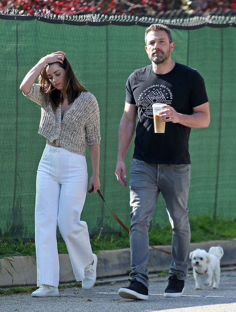 ana de armas with white pants