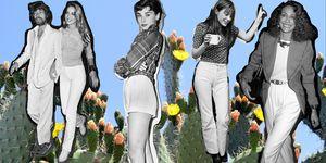 23 iconos de moda y sus looks en pantalones blancos