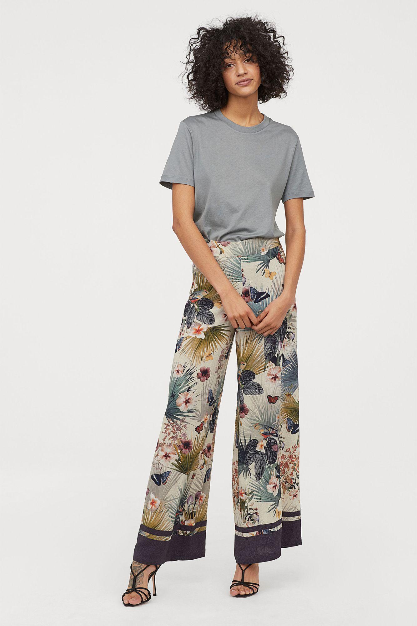 53a178f028c Estos 7 pantalones 'palazzo' de H&M visten más que cualquier vestido largo