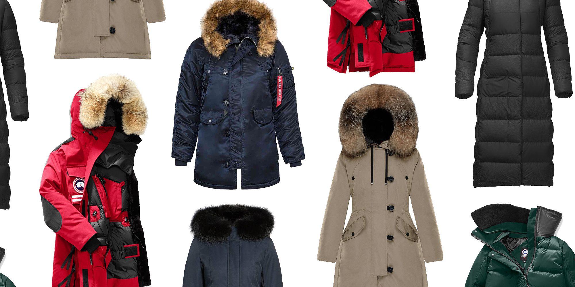 the warmest parkas of winter 2017 best winter coats