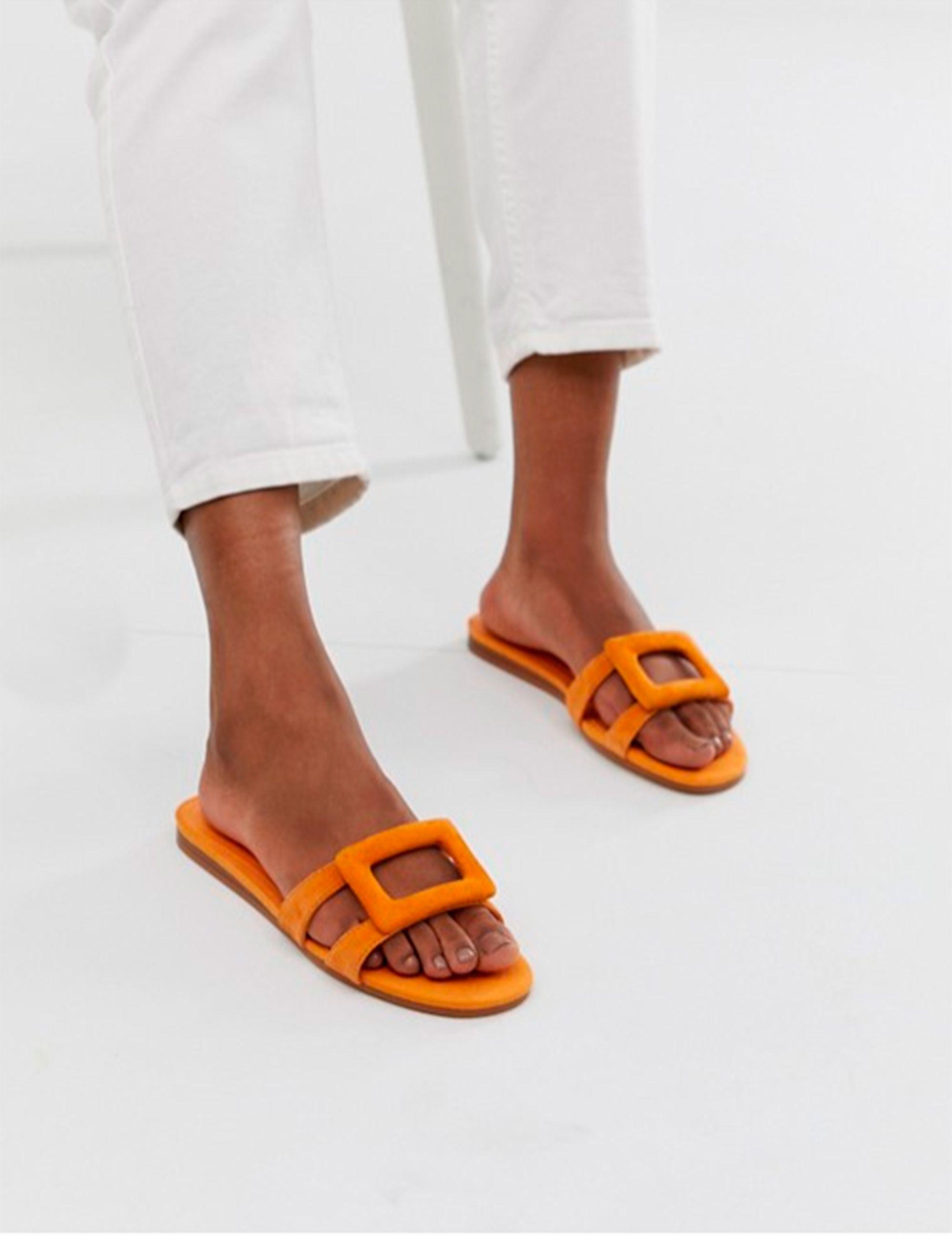 Sandalias Con Echevarría Paula Largo Vestido Y De Mango Planas I92EeWDYH