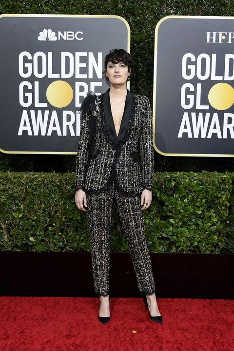 Phoebe Waller-Bridge Globos de Oro 2020 mejor vestidas