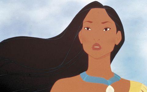 Pocahontas disney elle