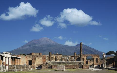 Pompeya ruinas Vesubio elle.es
