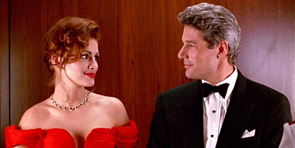 Julia Robets y Richard Gere en 'Pretty Woman'